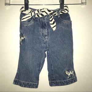 🦓 Gymboree zebra theme jeans 🦓